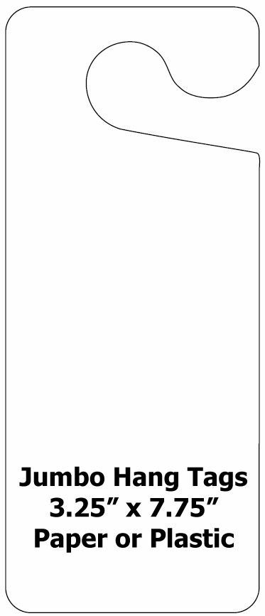 Blank Hang Tags \u2013 Plastic Or Card Stock K12ParkingPermits