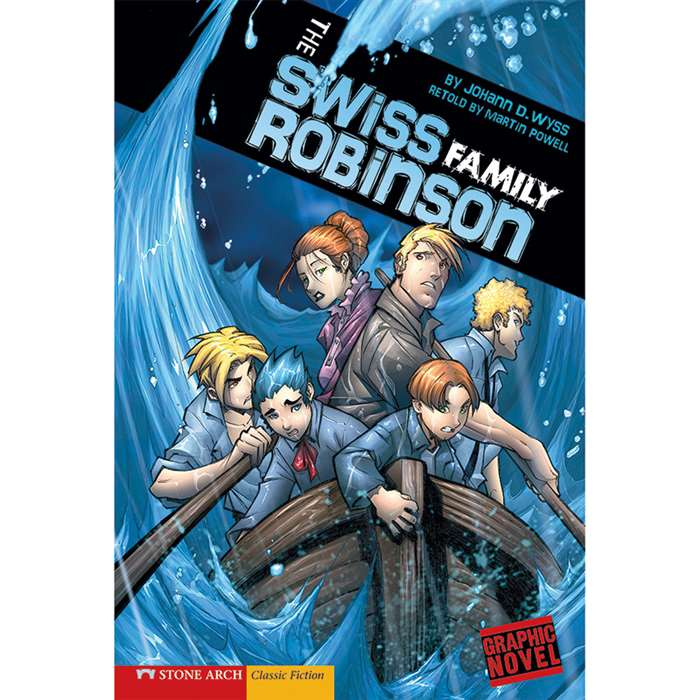 The Swiss Family Robinson Graphic Novel by Coughlan Publishing - Capstone Publishing