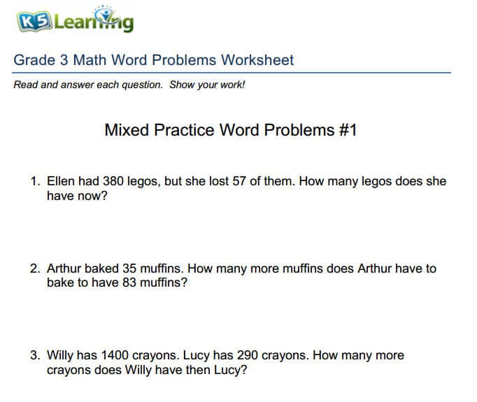 Thereu0027s a Simple Process for Solving Math Word Problems - sample word problem worksheets