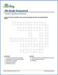 Fifth Grade Spelling Worksheets | K5 Learning