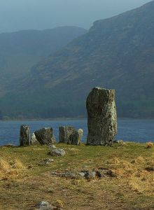 Uragh Stone Circle, Ireland, by mozzercork, creative commons license