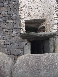 Entrance to Newgrange.