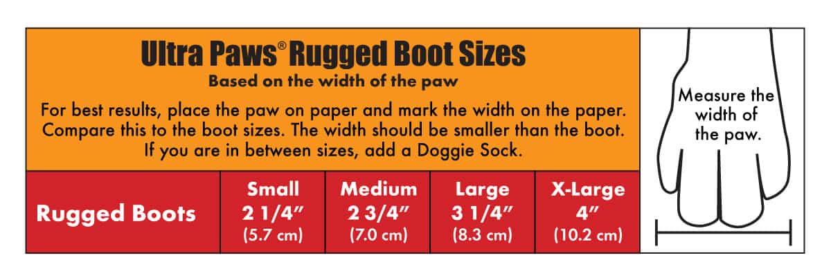 Ultra Paws Rugged Boots 4 Boots Per Set - K9 Carts