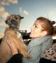 Kate Lawler and Baxter