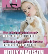 K9 Magazine Issue 58 Cover with Holly Madison