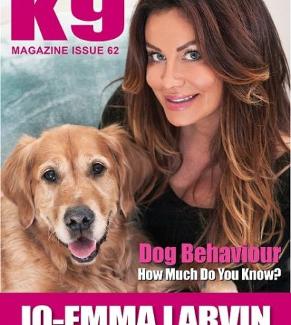 K9 Magazine Issue 62 Cover - Jo-emma Larvin and Sonny