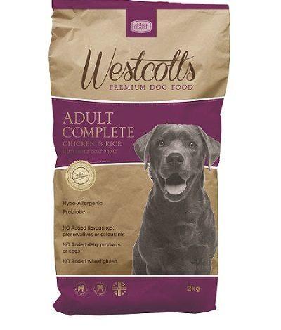 Westcotts premium dog food