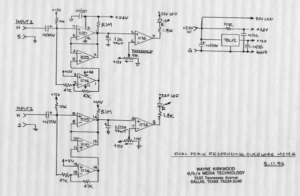 peak detector circuit simulator