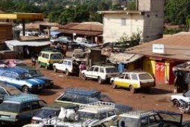 MAMOU: Lancement des travaux de construction de la nouvelle gare routière