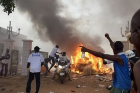 Incendie à Mamou dans un quartier populaire  de la ville