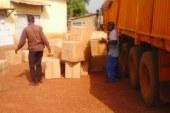 Humanitaire-Dabola : Le président de la République fait un don de 400 gilets de sauvetage aux préfectures de Dabola-Dinguiraye