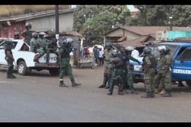 Marche du 20 avril: Présence massive des forces de sécurité à Conakry