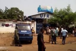 Manifestation : L'UFR accuse les forces de sécurité de protéger des « loubards » pour attaquer son siège