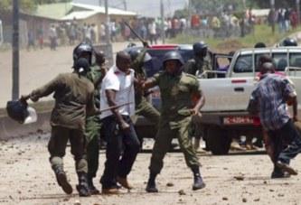 Répression des forces de l'ordre : le gouvernement parle ''d'esprit républicain''