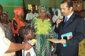 Deux cent femmes et enfants guéris d'Ebola pris en charge par le Ministère de l'Action Sociale et l'UNICEF