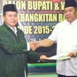 Abah Joni-Gus Munib Deklarasi Cabup-Cawabup PKB