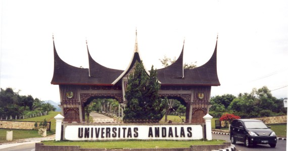 Universitas Andalas. Foto : Wikipedia
