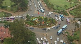 roundabouts are more efficient than intersections