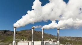 A geothermic power station. Adobe RGB