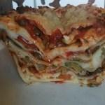 recette Italienne des lasagnes aux légumes bio à la sauce tomate et à la mozzarella