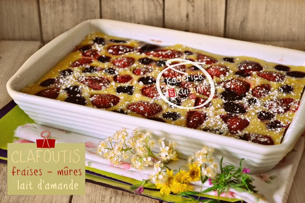 clafoutis fraises m res lait amande l 39 omnicuiseur kaderick. Black Bedroom Furniture Sets. Home Design Ideas
