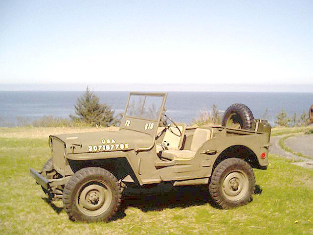 Kodiak Military History, 1945 Willys MB Jeep