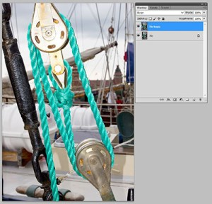 Tryb mieszania warstw Photoshopie - Screen (Ekran)