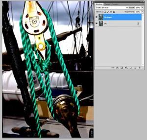 Tryb mieszania warstw Photoshopie - Vivid Light (Światło Jaskrawe)