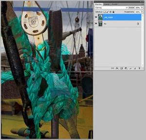 Tryb mieszania warstw Photoshopie - Darken (Ciemniej)