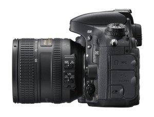 Nikon D610 widok z boku