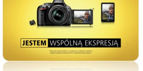 Najnowsza kampania marki Nikon promująca lustrzanki amatorskie
