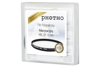 Filtr polaryzacyjny Photho MRC 77 mm