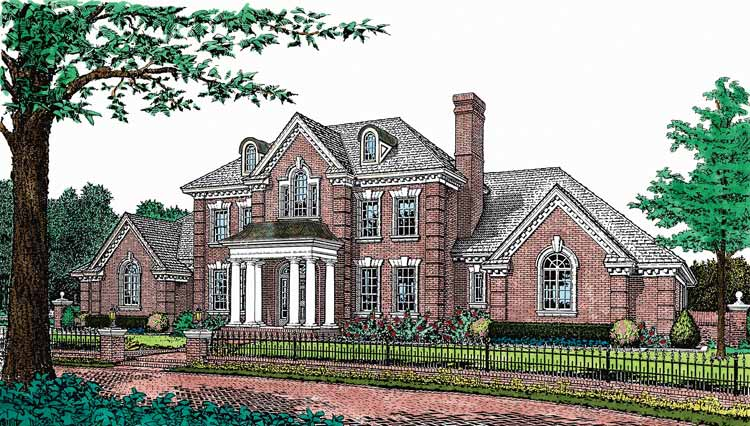 Federal architectural style is contemporary european trend for Adam federal house plans