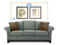 Did you know - How to hang wall art on right way height ...