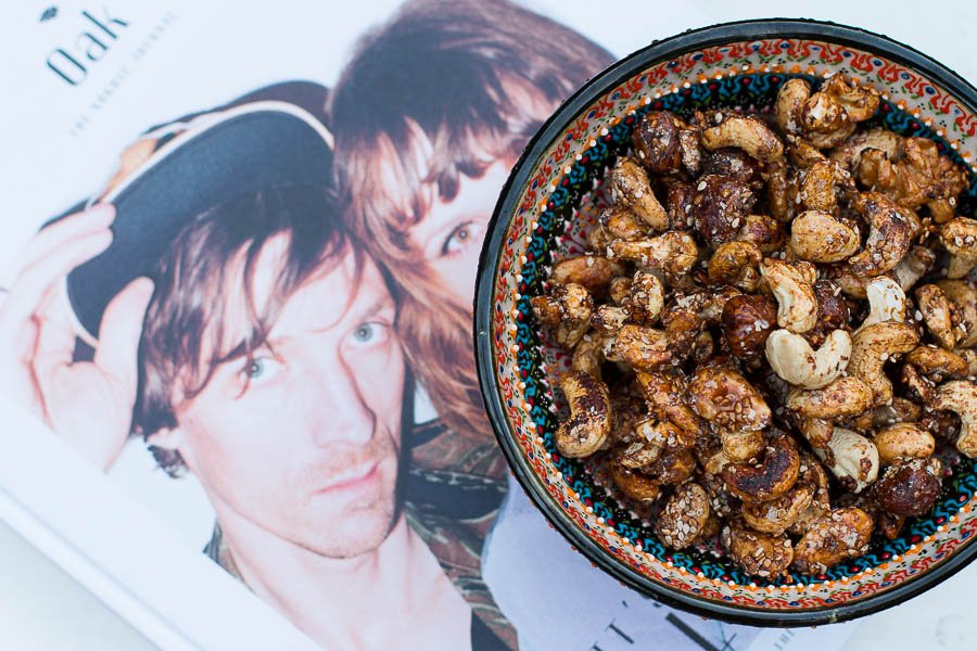 Healthy Snack // Spicy Nuts selbst gemacht