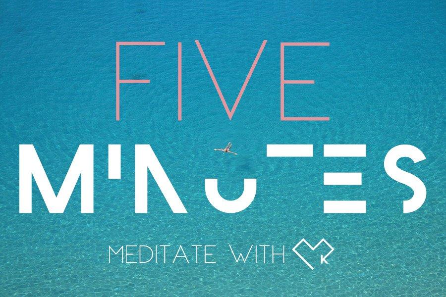 #fiveminutes • Mit Meditation beschwingt durch die Weihnachtszeit