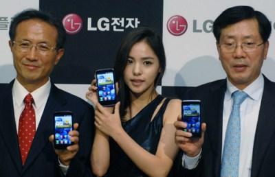 LG True HD IPS displei