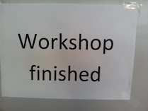 workshop fininshed It Is not over until the Fat Lady Sings ...