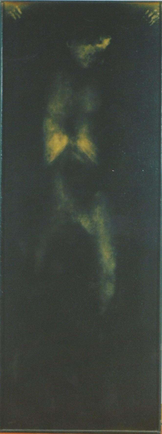 Giovanni Manfredini, Tentativo di Esistenza, calco corporeo su media reagenti, 1998