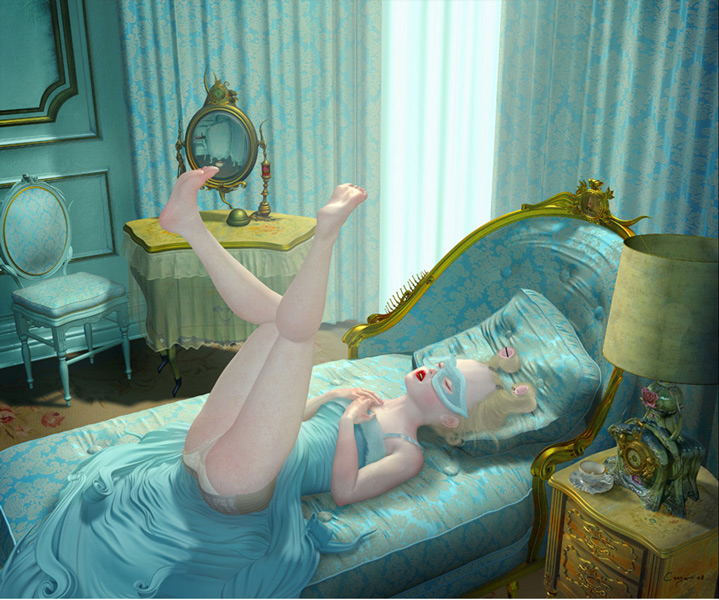 Ray Caesar, mourning glory