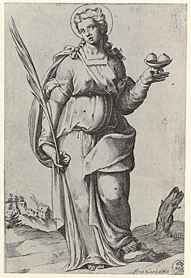 sant'agata, agostino carracci