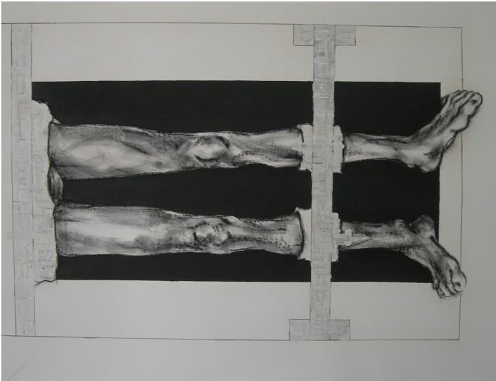 stella (Stefania Gagliano), Cristo in Begarelli, sotto i ferri, 2009