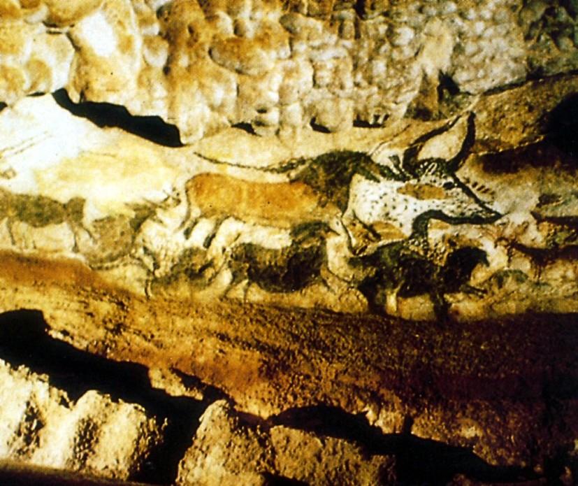 pittura parietale preistorica, Lascaux, 16000 ac