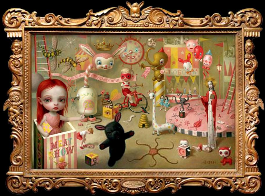 circus-the-magic-circus-by-mark-ryden