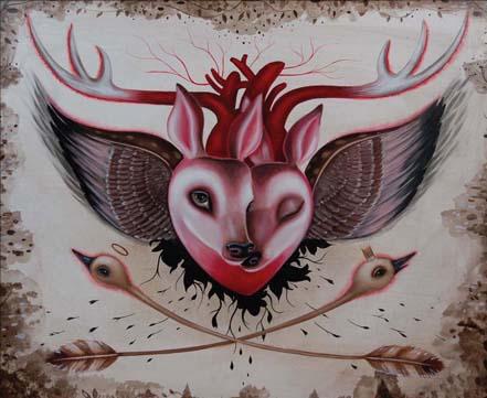 Jennybird Alcantara, deerheart