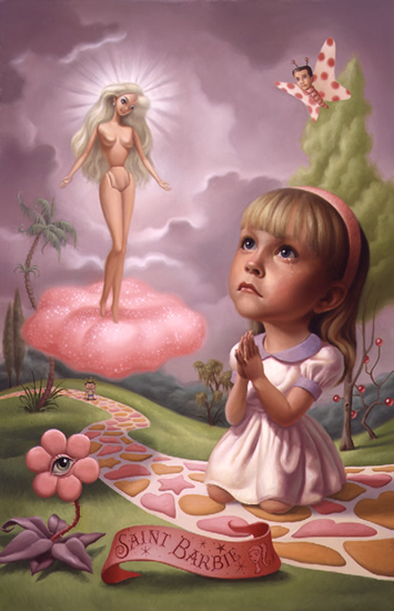 Mark Ryden, Saint_Barbie