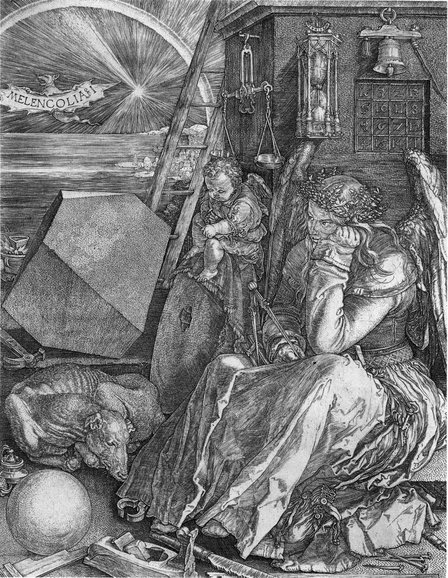 Albrecht Durer Melanholia 1514