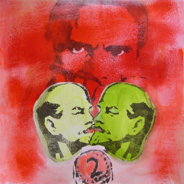 Colette Baraldi, Amore in Lenin in grado rosso