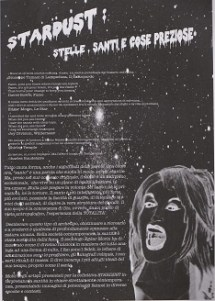 Fanzine Unknown Pleasures, Stardust, grafiche Francesca de Paolis, 1