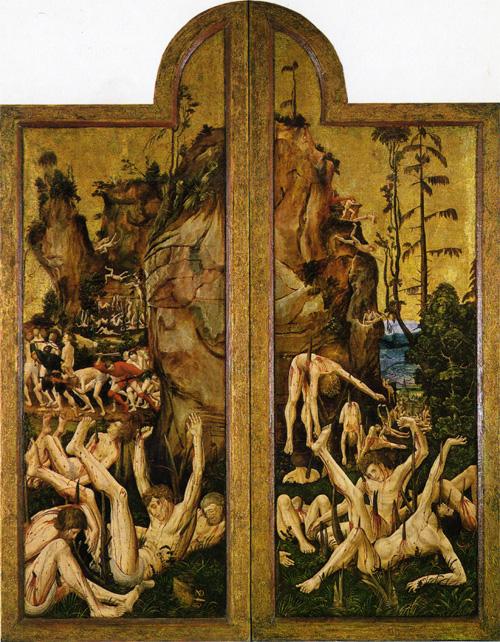 Niklaus Manuel Deutsch il martirio dei 10mila